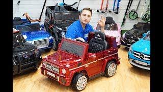 как правильно выбрать и купить электромобиль для ребёнка?