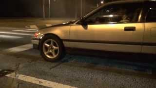 WS6 Firebird vs. Turbo Honda CRX grudge street race