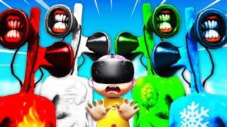 VR BABY Summons ELEMENTAL SIREN HEADS