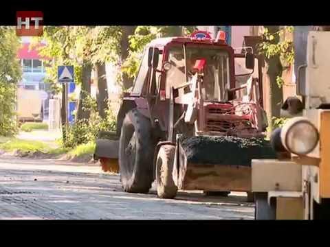 Зрители Новгородского телевидения жалуются на ремонт улицы Мусы Джалиля – Духовская