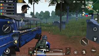 Pubg mobile BiTaNo Games fighting with the team