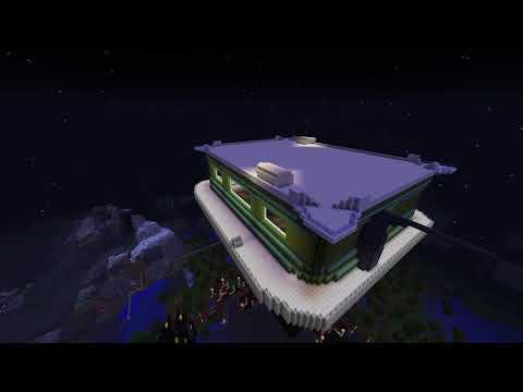 Minecraft Gas Mining Platform Part1