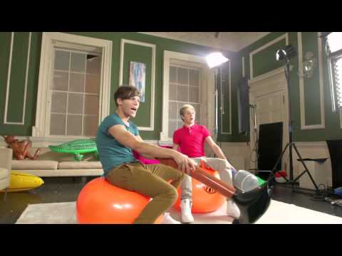One Direction - Super Pokemon Rumble (Behind the Scenes)