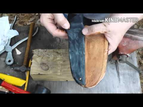 Leather Knife Sheath with Kydex Liner