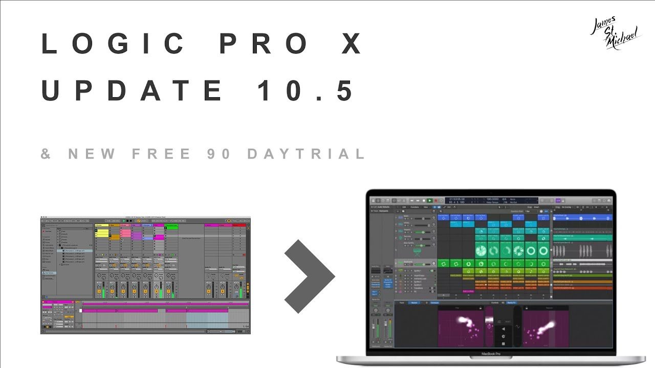 Logic Pro 10 5 Update New Free Trial Youtube