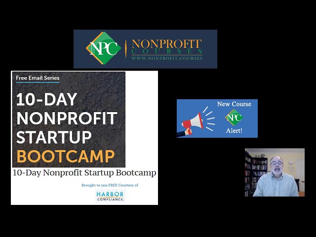 New Course Alert: 10-Day Nonprofit Startup Boot Camp