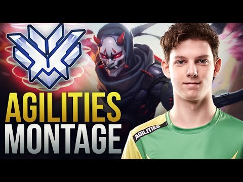 Best of Agilities - INSANE DPS PRO - Overwatch Montage thumbnail