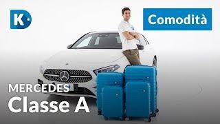 Mercedes Classe A 2018 | 1 Di 3: Comodità | E' Comoda Per Quattro?