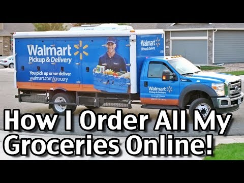 How I Order All My Groceries Online! Walmart Grocery Delivery