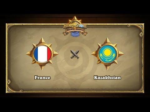 France vs Kazakhstan | Hearthstone Global Games
