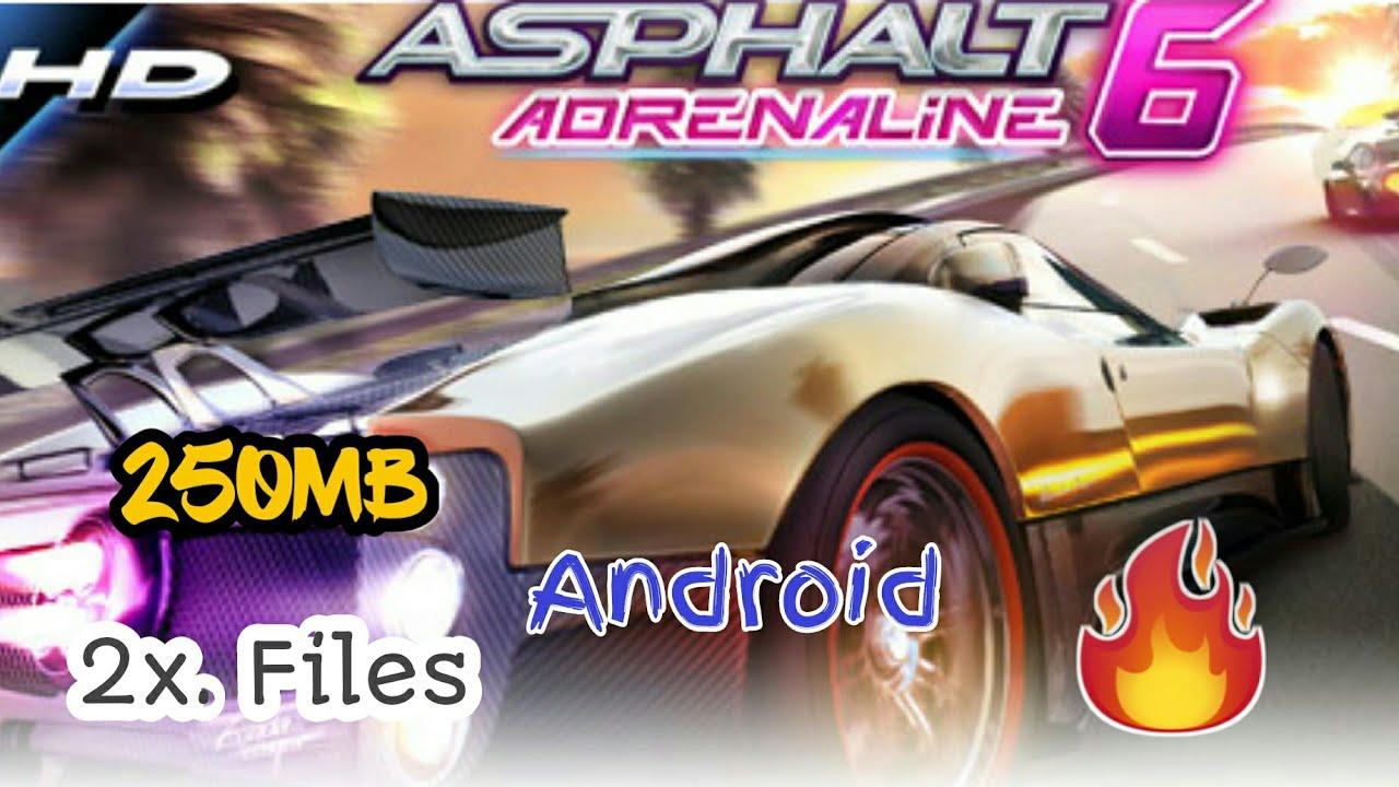 asphalt 6 adrenaline apk free download for android