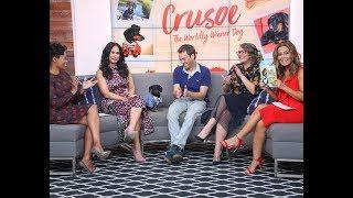 Crusoe the Dachshund on 'The Social' Talk Show