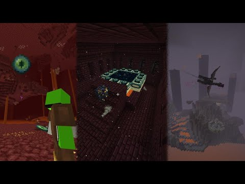 beating-minecraft-without-leaving-the-nether...