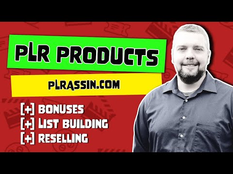 Buy Quality PLR Products For Bonuses and List Building
