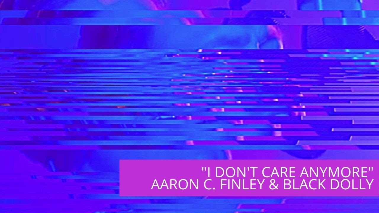 "Artwork representing ""I Don't Care Anymore"" by Phil Collins - Aaron C. Finley feat. Black Dolly"