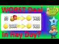 HAY DAY - IS SELLING TO VISITORS THE WORST DEAL IN HAY DAY?