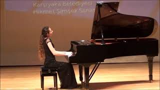 Pelin Ece Acar,15 years old.Mozart Akademi piano competition,2018.