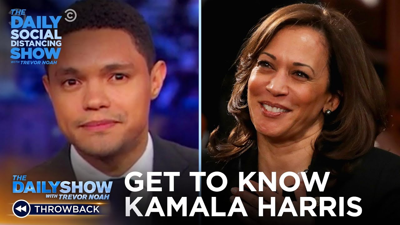 Get to Know Kamala Harris | The Daily Social Distancing Show