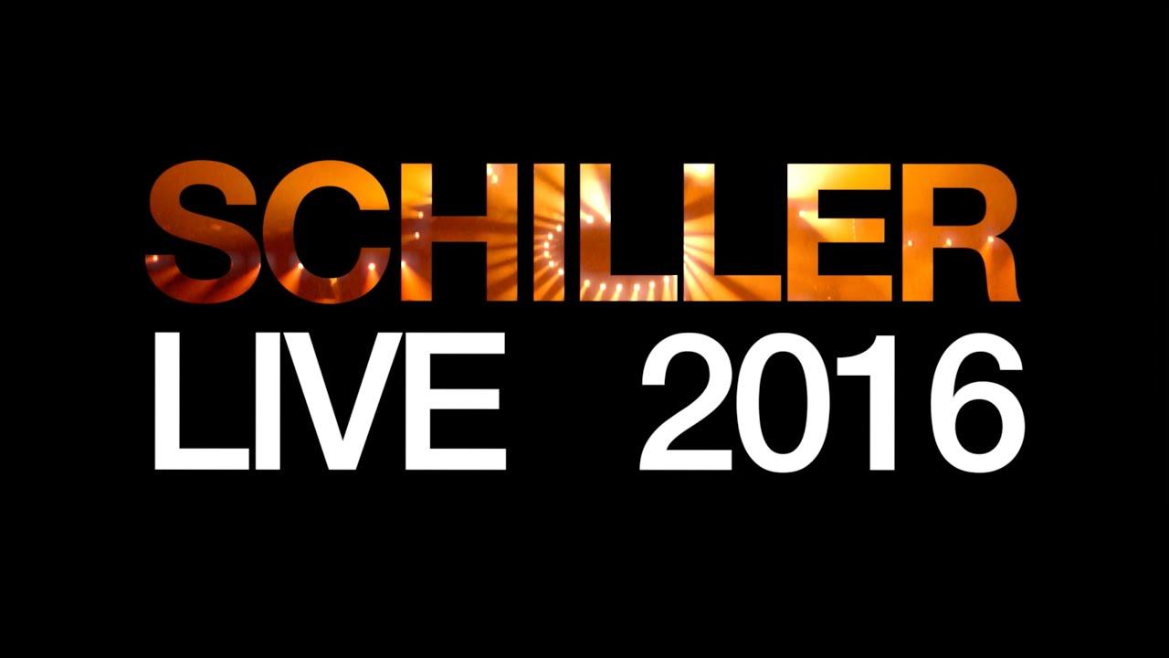 SCHILLER LIVE 2016 - Eine atemberaubende Reise aus LICHT UND KLANG