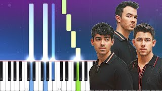 Gambar cover Jonas Brothers - Only Human (Piano Tutorial)