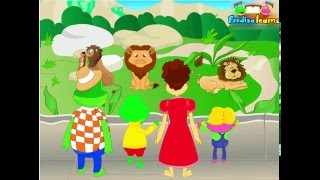 Animal Comparisons Dialogue - English Lesson for Kids