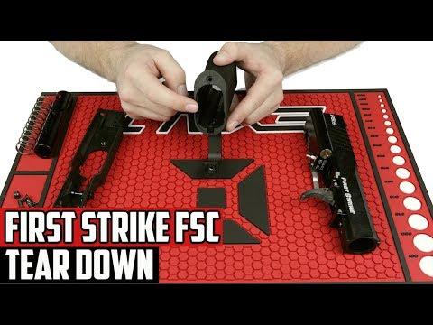 First Strike FSC Paintball Pistol Tear Down - 4K