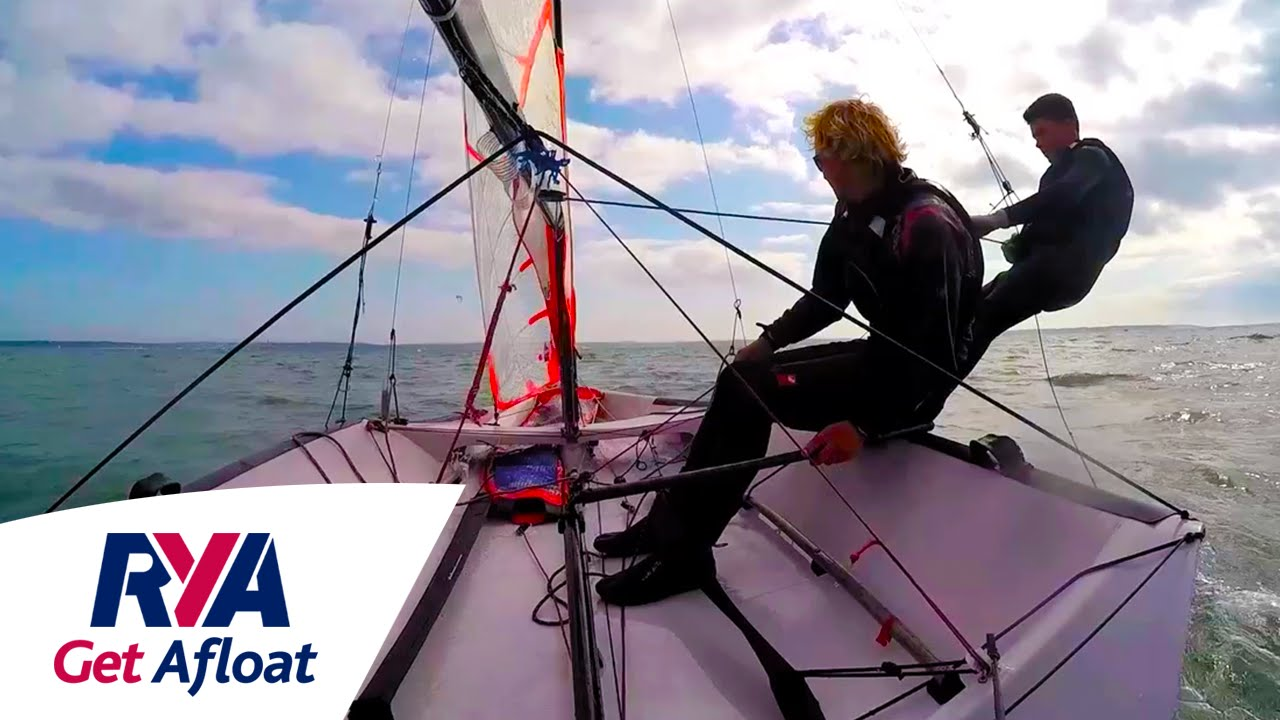 Small Boat Racing - Get Afloat with the RYA - Start Sailing -