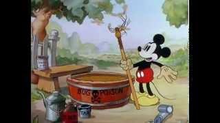 Repeat youtube video 76 ミッキーの害虫退治 Mickey's Garden 19350713