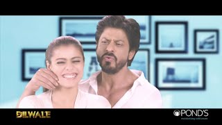 Shahrukh Khan and Kajol go Googly Woogly Wooksh