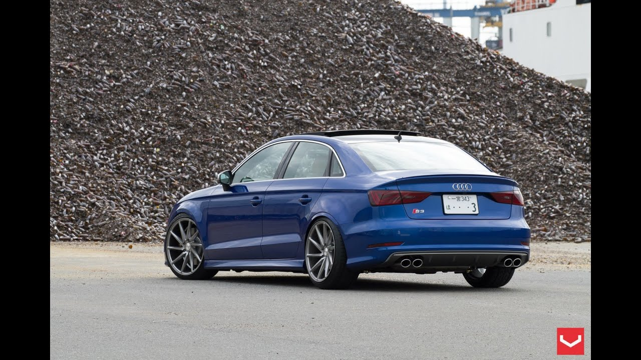 New Audi S3 Sedan On Vossen Wheels Youtube
