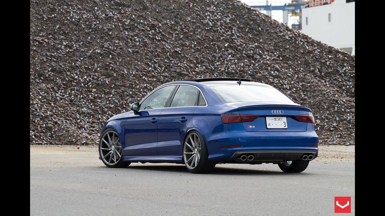 New Audi S3 Sedan On Vossen Wheels Youtube