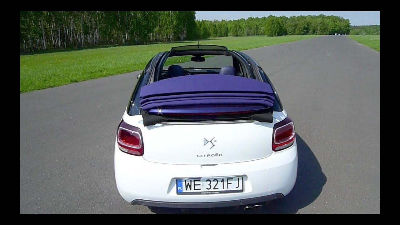 eng citroen ds3 cabrio test drive and review youtube. Black Bedroom Furniture Sets. Home Design Ideas