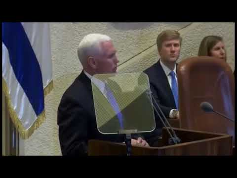 Pence in Jerusalem: Israel shows the power of faith