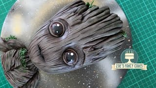 Baby Groot cake Guardians of the Galaxy Vol. 2