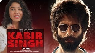 Kabir Singh – Official Trailer | Shahid Kapoor, Kiara Advani | Reaction | Pooja Rathi | CuteBox