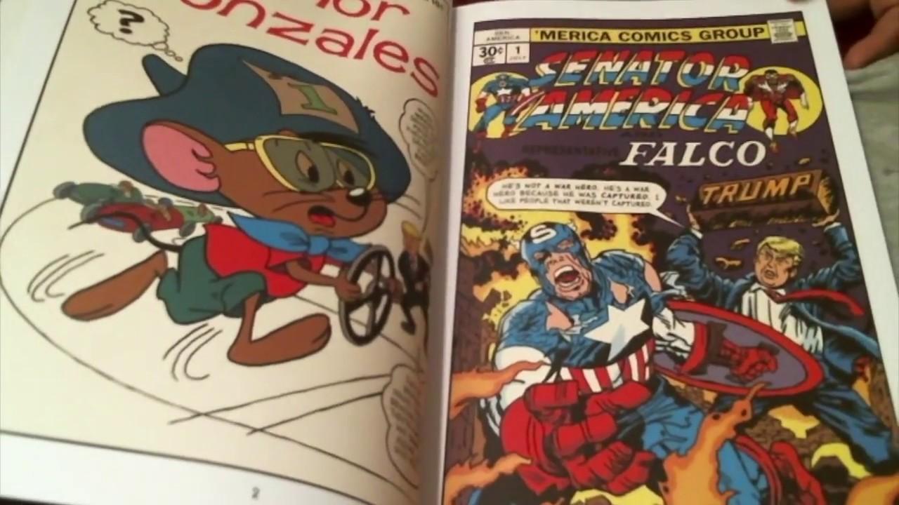 CC4C #80 / THE UNQUOTABLE TRUMP COMIC BOOK / Show & Tell