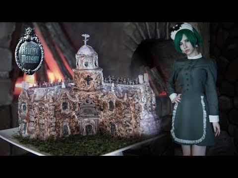 DisneyLand  👑  Haunted Mansion CAKE  For Vegan Gluten-free | AmaterasuEVE