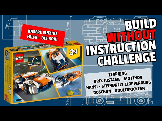 🔴 BUILD WITHOUT INSTRUCTION CHALLENGE | 200 ABO-SPECIAL