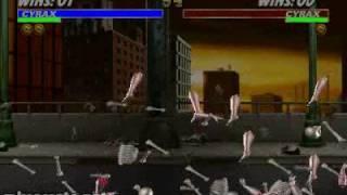Mortal Kombat 3 - Fatality 2 - Cyrax