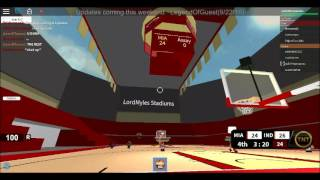 HOW TO LAG SWITCH | NBA Hoopz | Roblox (Plain Gameplay)