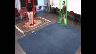 Real time multi-object tracking using multiple cameras - Lab 6 Sequence