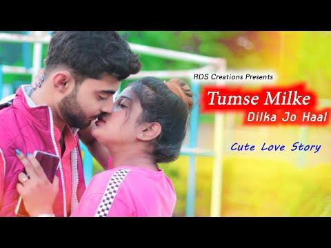 tumse-milke-dilka-jo-haal-|-main-hoon-na-|-cute-love-story-|-tik-tok-famous-song-|-rds-creations