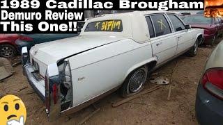 1989 Cadillac Brougham Doug Demuro Review Junkyard Find