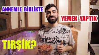 ANNEMLE BERABER YEMEK YAPTIK