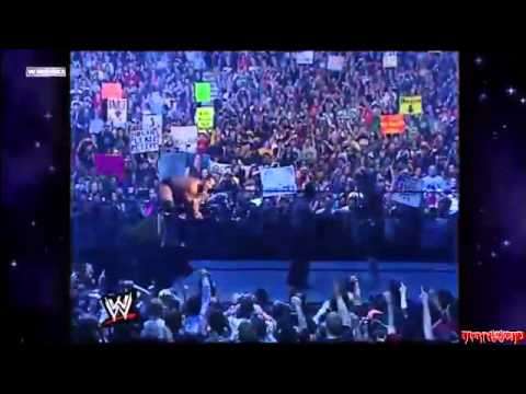 WrestleMania 18  The Rock entrance