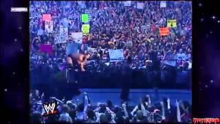 WrestleMania 18 - The Rock entrance