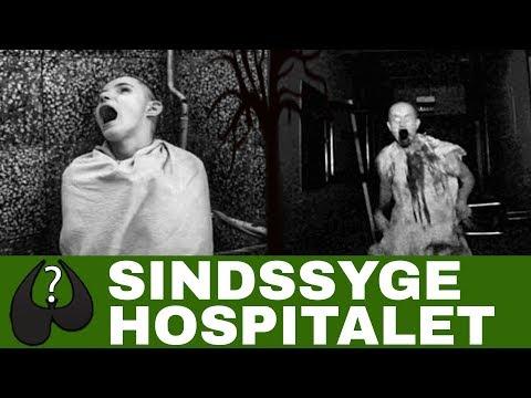 Uhyggelige Historier Det Uhyggelige Sindssygehospital Baseret På