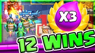 Win With This Deck • Clash Royale Triple Elixir Challenge