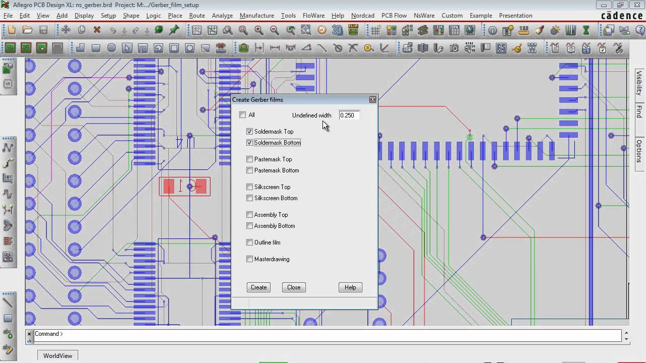 Automate gerber film setup in OrCAD / Allegro PCB Editor - YouTube