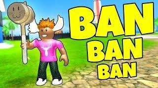 BANNER ROBLOX SPILLERE! - Dansk Roblox: Ban Hammer Simulator